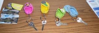 Ключи от апартаментов