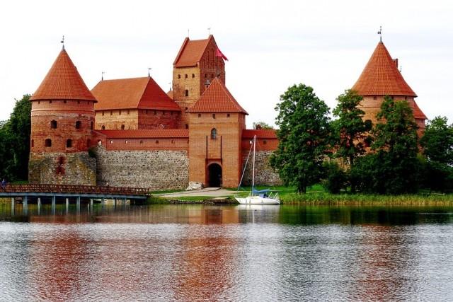 Тракайский замок велотур