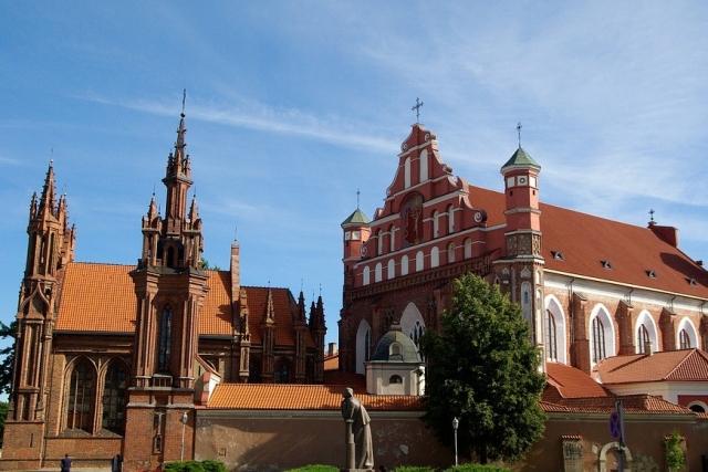 Костел Святой Анны Вильнюс