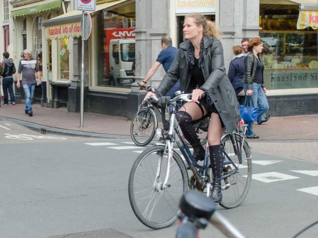 Велосипедисты Нидерланды