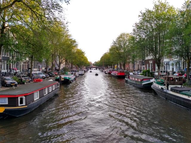 Каналы Амстердам