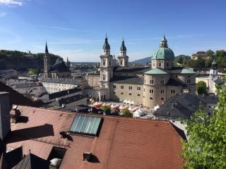 Зальцбург крыши