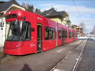 Трамвай в Инсбрук