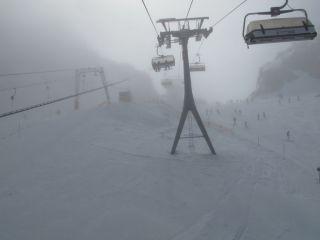 Снег в Австрии
