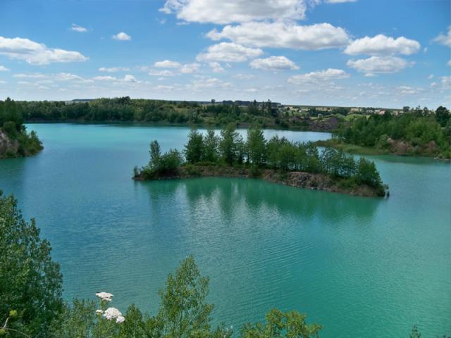 Велотур базальтовое озеро