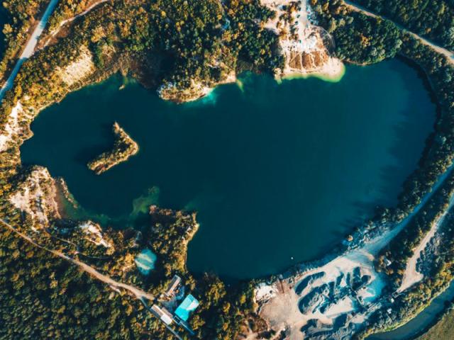 Базальтовое озеро Ровно