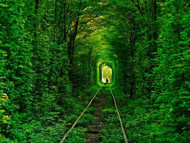 Туннель влюблённых Клевань