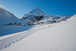 Катания на альпийских горнолыжных курортах