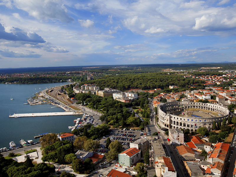 Хорватия на велосипеде